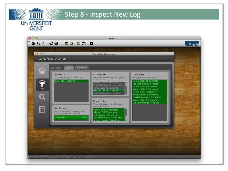 Step 8 - Inspect New LogPresentation for Ideas@Work - Tutorial from Fluxicon ©                         34 / 51