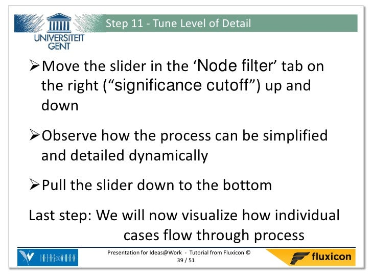 """Step 11 - Tune Level of DetailMove the slider in the 'Node filter' tab on the right (""""significance cutoff"""") up and downO..."""