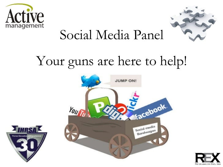Social Media Panel Your guns are here to help!