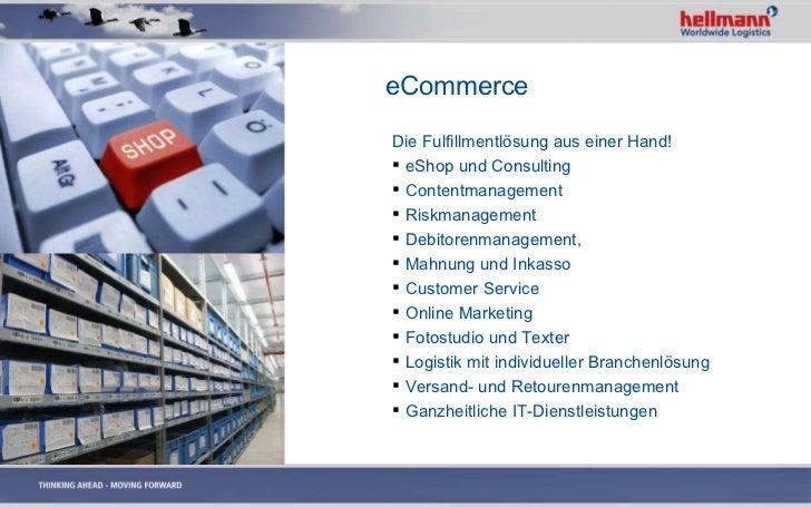 Hellmann Worldwide Logistics Image Präsentation 2011 Deutsch