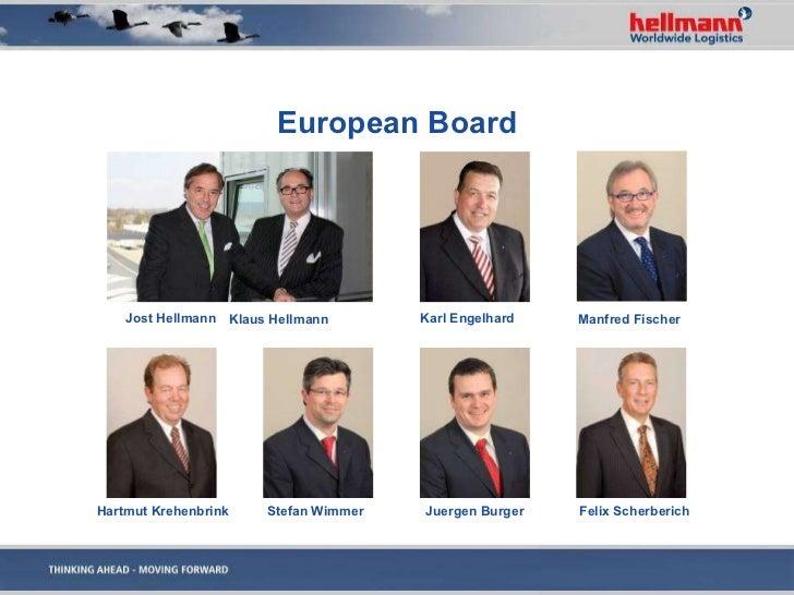Hellmann Worldwide Logistics Image Presentation 2011 Englisch