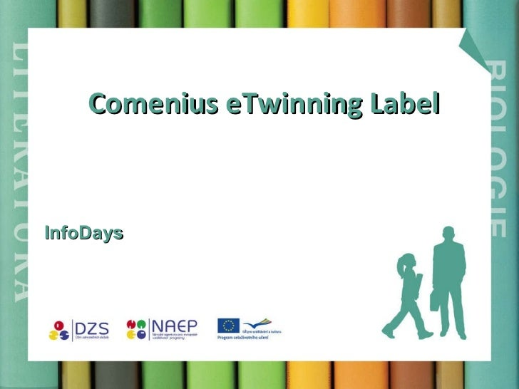 Comenius eTwinning Label InfoDays