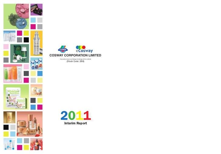 (formerly known as Berjaya Holdings (HK) Limited)          (Stock Code: 288)2011  Interim Report
