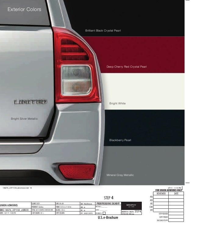 2011 Jeep Compass E Brochure