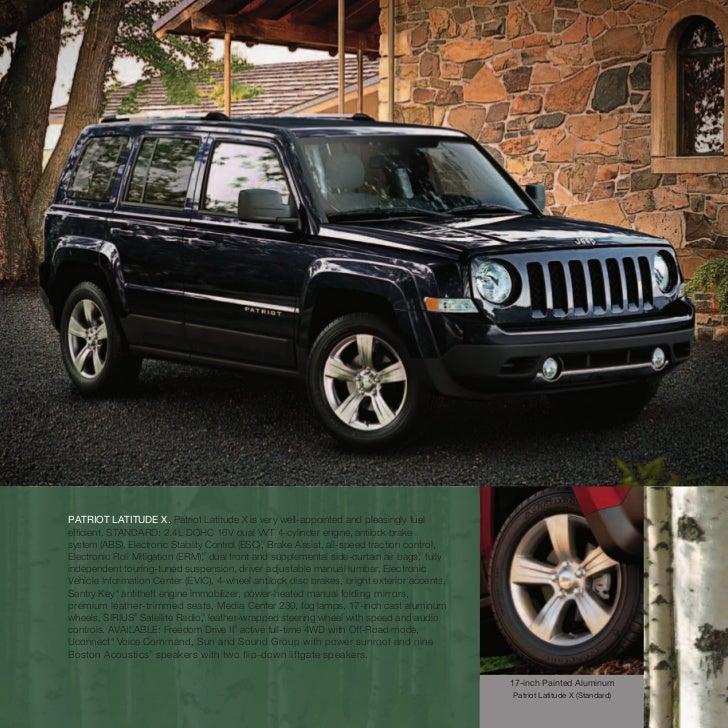 2011 Jeep Patriot Transmission: 2011 Jeep Patriot E Brochure