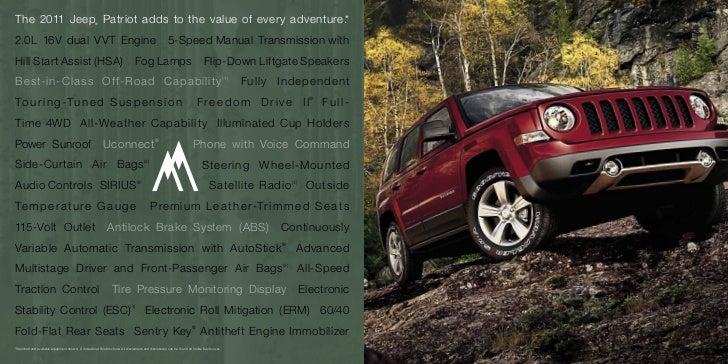 2011 jeep patriot for sale ny jeep dealer in long island. Black Bedroom Furniture Sets. Home Design Ideas
