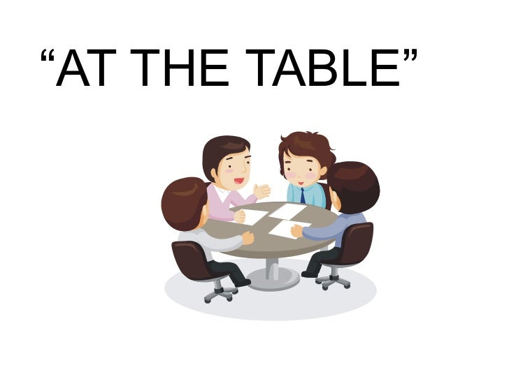 """Is Your Library """"at the table"""" or """"on the menu"""" Slide 3"""