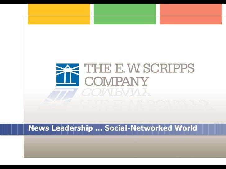 News Leadership … Social-Networked World