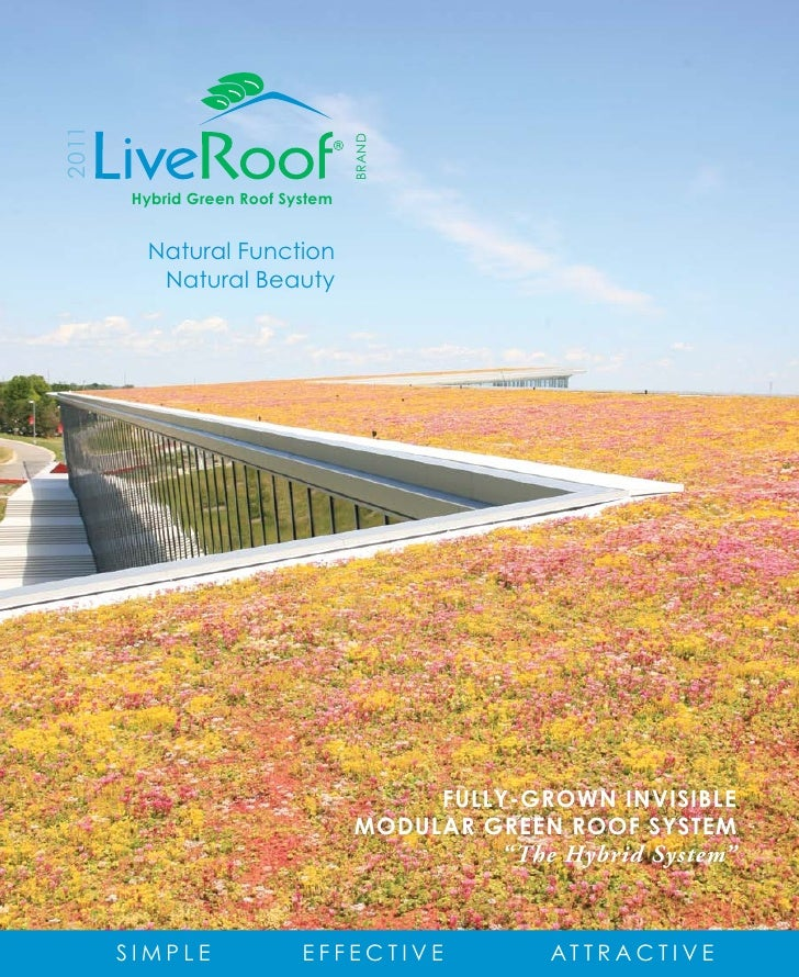 2011                                  BRAND       Hybrid Green Roof System         Natural Function          Natural Beaut...