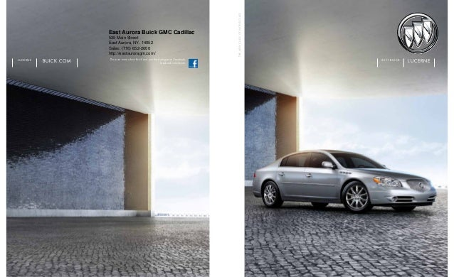 Discover more about Buick and join the dialogue on Facebook. facebook.com/buick buick.comlucerne thenewclassofworldclass l...