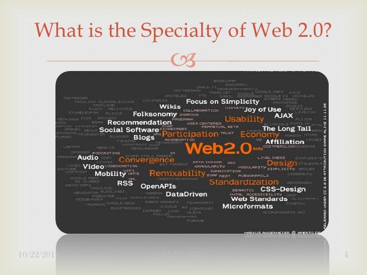 What is the Specialty of Web 2.0?                  10/22/2011       MaFla 2011            4