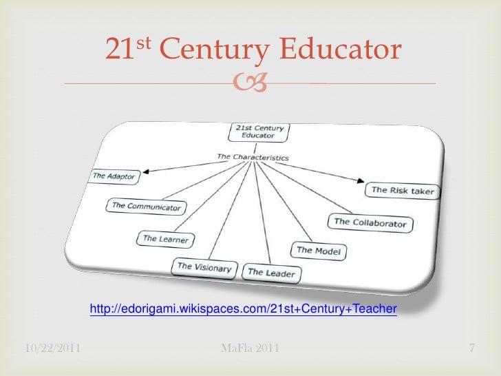21 st    Century Educator                                                  http://edorigami.wikispaces.com/21st+Century+T...