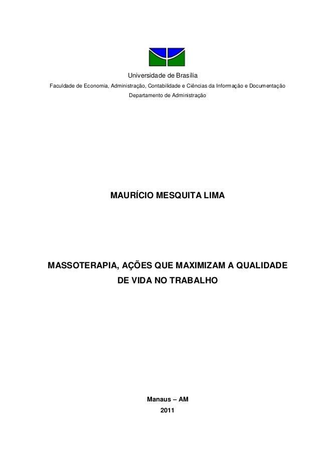Universidade de Brasília Faculdade de Economia, Administração, Contabilidade e Ciências da Informação e Documentação Depar...