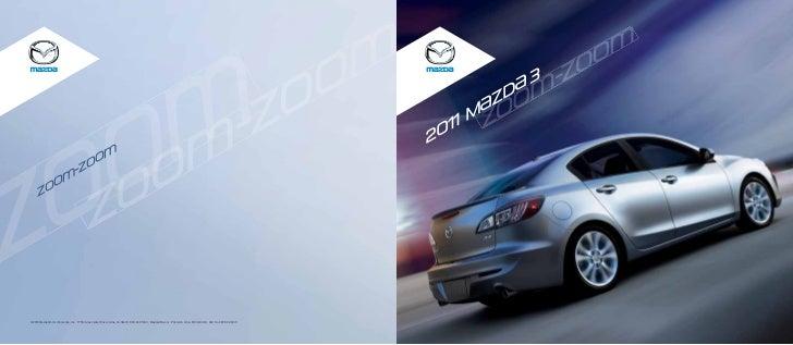 2011 Mazda MAZDA3 brochure by Neil Huffman Mazda Louisville KY