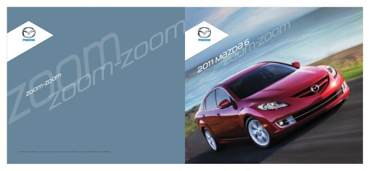 2011 Mazda MAZDA6 brochure by Neil Huffman Mazda Louisville KY