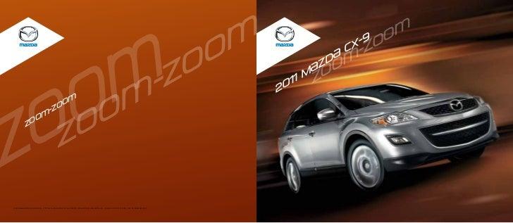 2011 Mazda CX-9 brochure by Neil Huffman Mazda Louisville KY