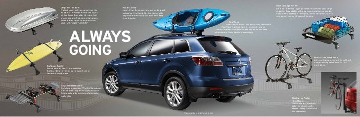 2011 Mazda Cx 9 Accessories Brochure By Neil Huffman Mazda