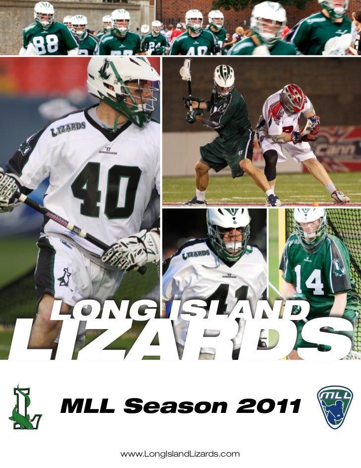 MLL Season 2011   www.LongIslandLizards.com
