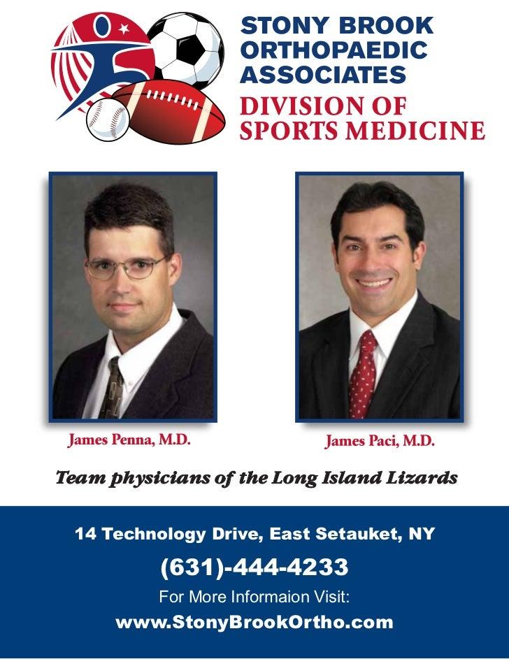Long Island Lizards 2011 Media Guide