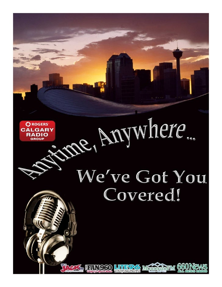 2011 Calgary Radio media kit for JACK, LITE