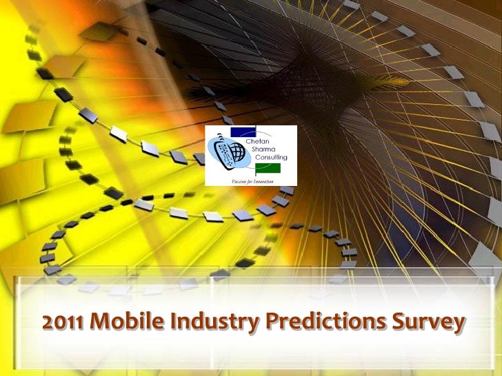 2011 Mobile Industry Predictions Survey