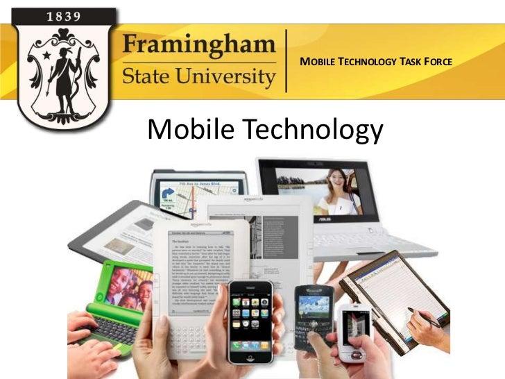 MOBILE TECHNOLOGY TASK FORCEMobile Technology