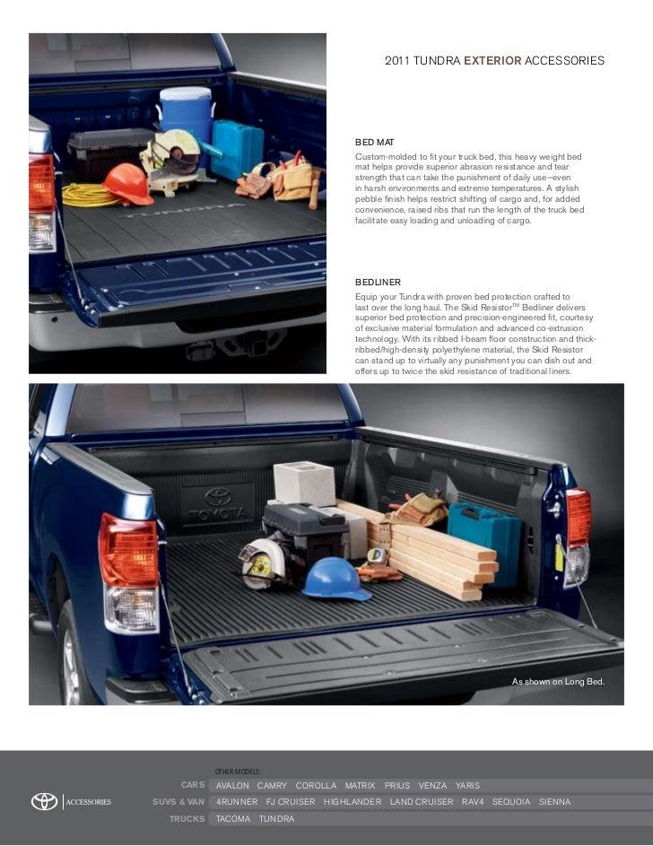 2011 Toyota Tundra Accessories Dallas