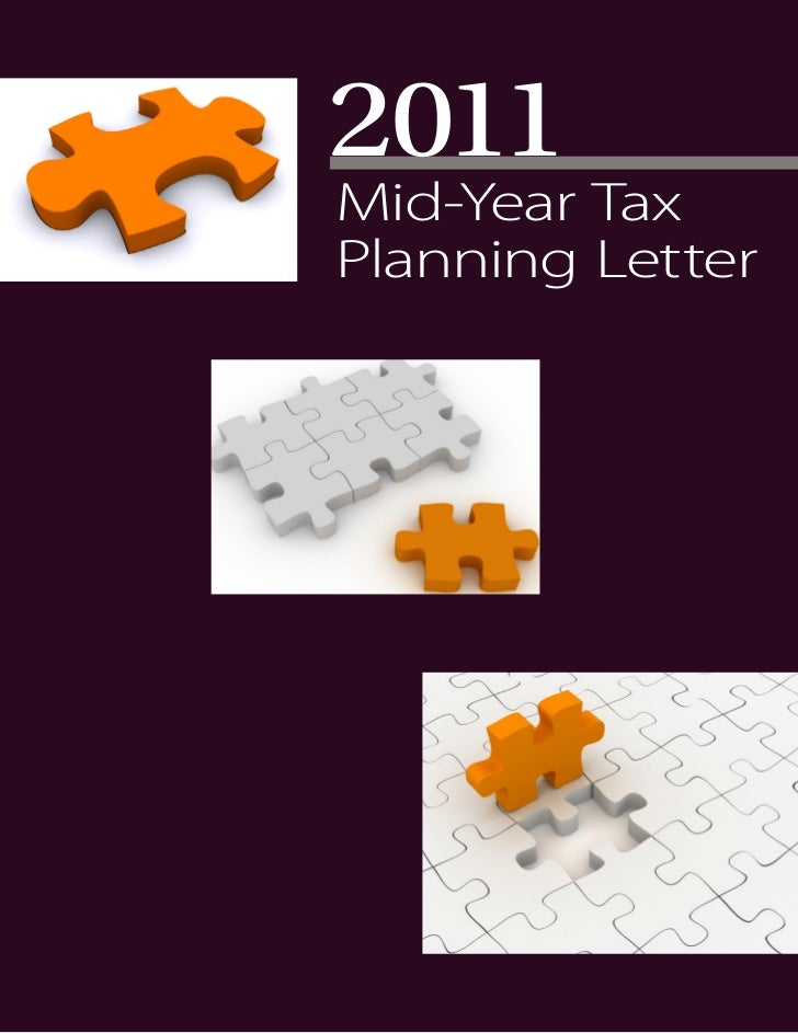 2011Mid-Year TaxPlanning Letter