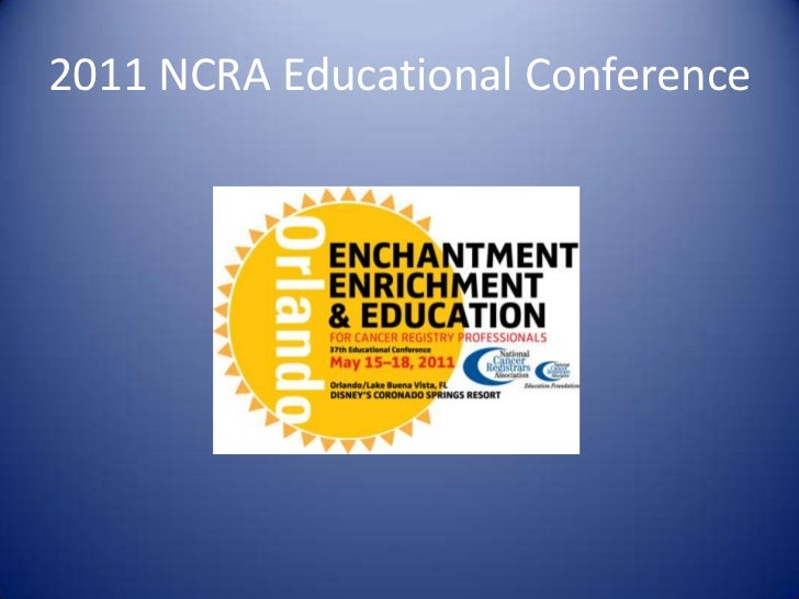 2011 NCRA Educational Conference<br />