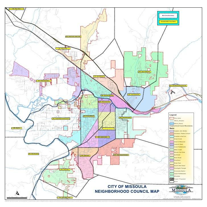 Apartments Near University Of Nebraska Lincoln: Missoula Neighborhoods Map