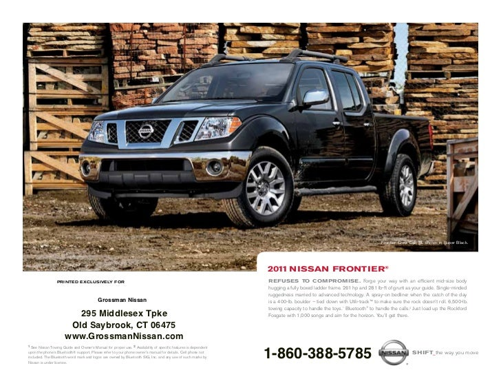 2011 nissan frontier for sale in middletown ct nismo. Black Bedroom Furniture Sets. Home Design Ideas
