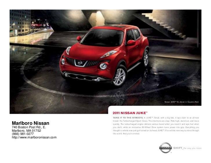 Nissan JUKE™ SL shown in Cayenne Red.                                2011 nissan JUke™                                Take...