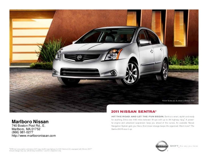 Nissan Sentra 2.0 SL shown in Brilliant Silver.                                                                           ...