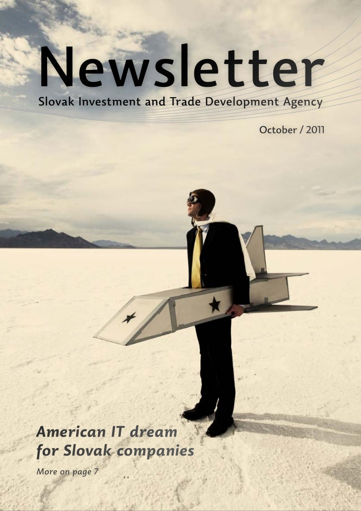 NewsletterSlovak Investment and Trade Development Agency                                   October / 2011American IT dream...