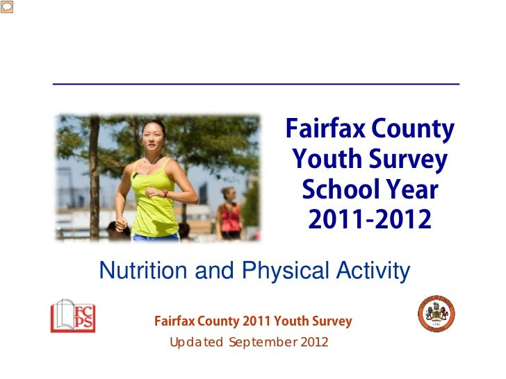 Fairfax County                           Youth Survey                            School Year                            20...