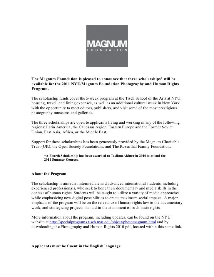 2011 nyu mf press release