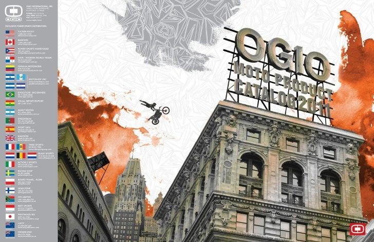 2011 OGIO MOTO CATALOG