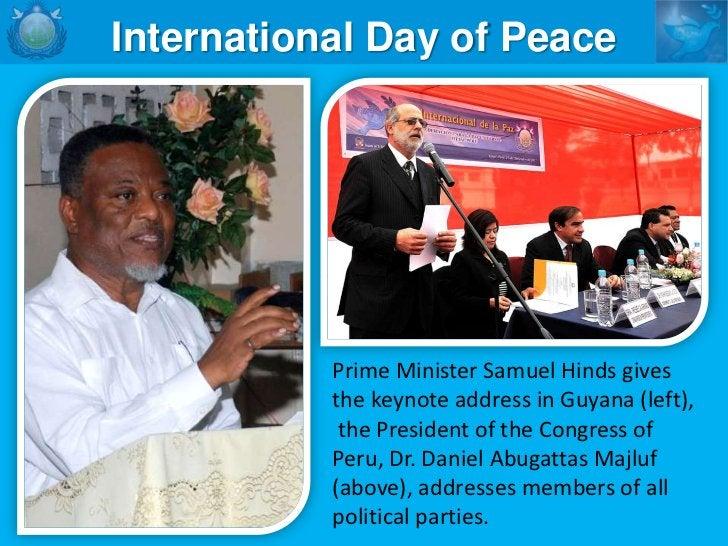    INTERFAITH PEACE COUNCILS   WORLD INTERFAITH HARMONY WEEK