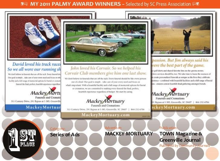 2011 PALMY Award – Winners