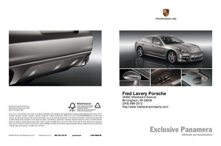 Fred Lavery Porsche                                                                                                       ...