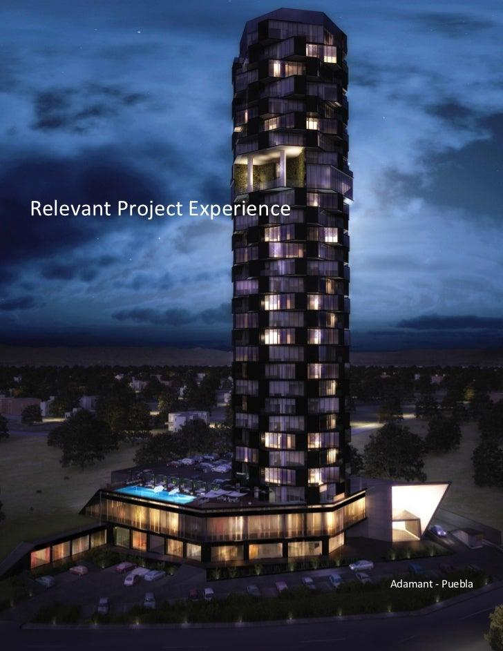 Relevant Project Experience+                              Adamant - Puebla
