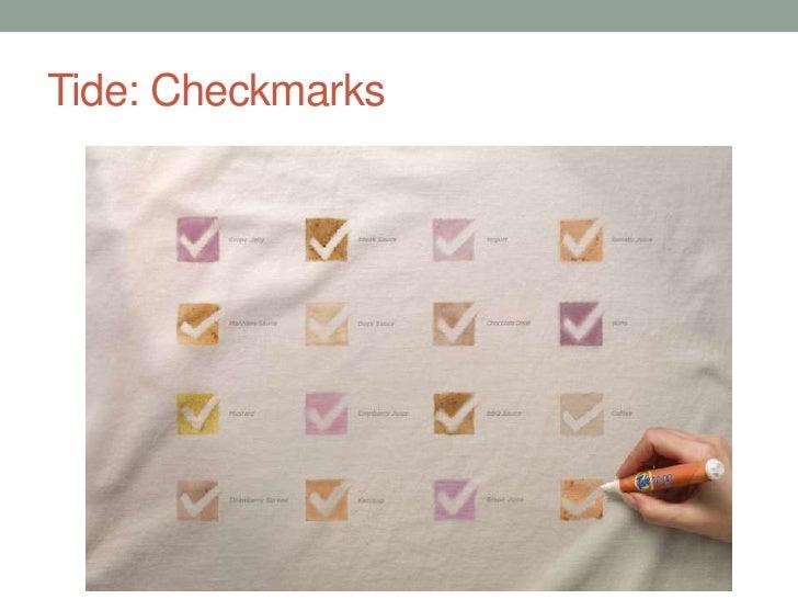 Tide: Checkmarks<br />