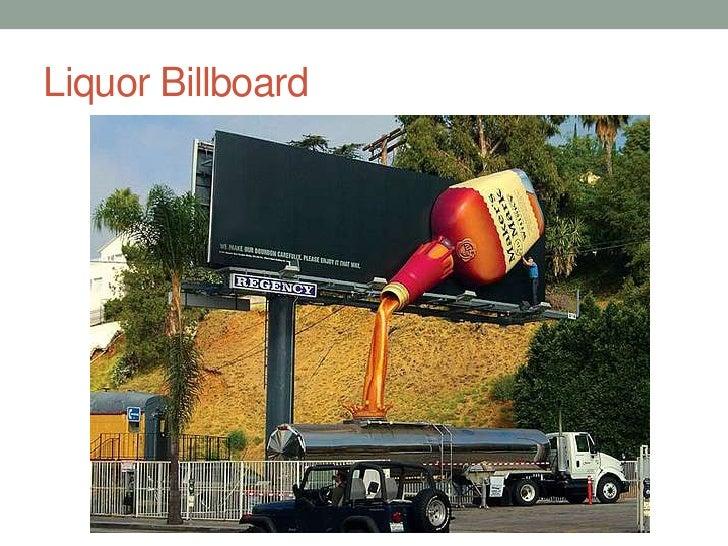 Liquor Billboard<br />