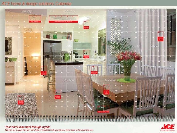 ACE home & design solutions: Calendar<br />