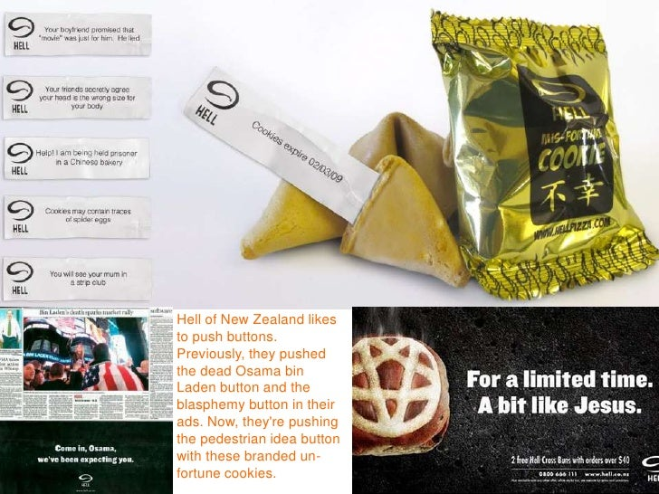 Hell of New Zealand likes to push buttons. Previously, they pushed the dead Osama bin Laden button and the blasphemy butto...