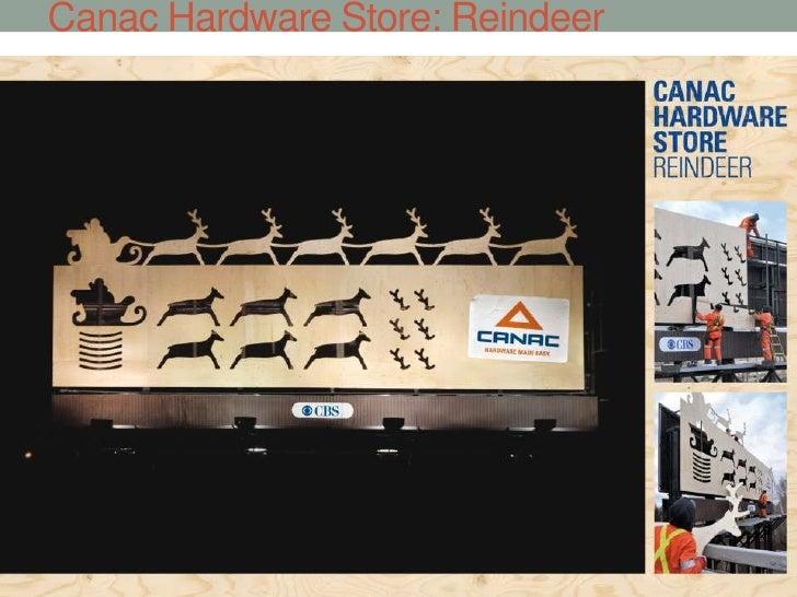 Canac Hardware Store: Reindeer<br />