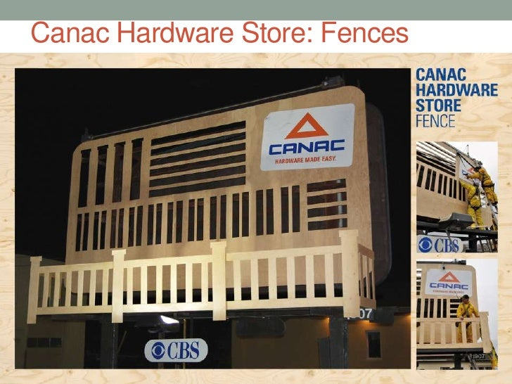 Canac Hardware Store: Fences<br />