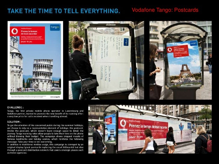 Vodafone Tango: Postcards<br />