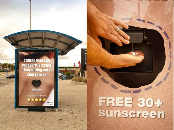 SunSmart Cancer Council Western Australia: Cut Out<br />