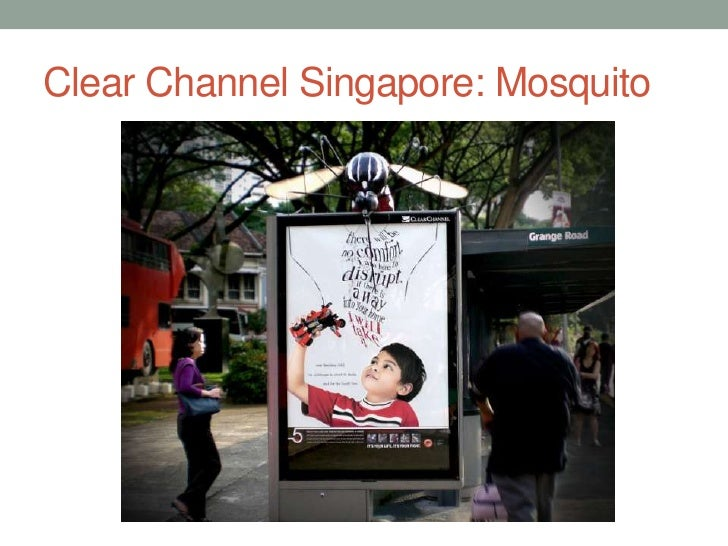 Clear Channel Singapore: Mosquito<br />
